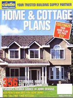 Homes & Cottage Plans Book available at Zak's